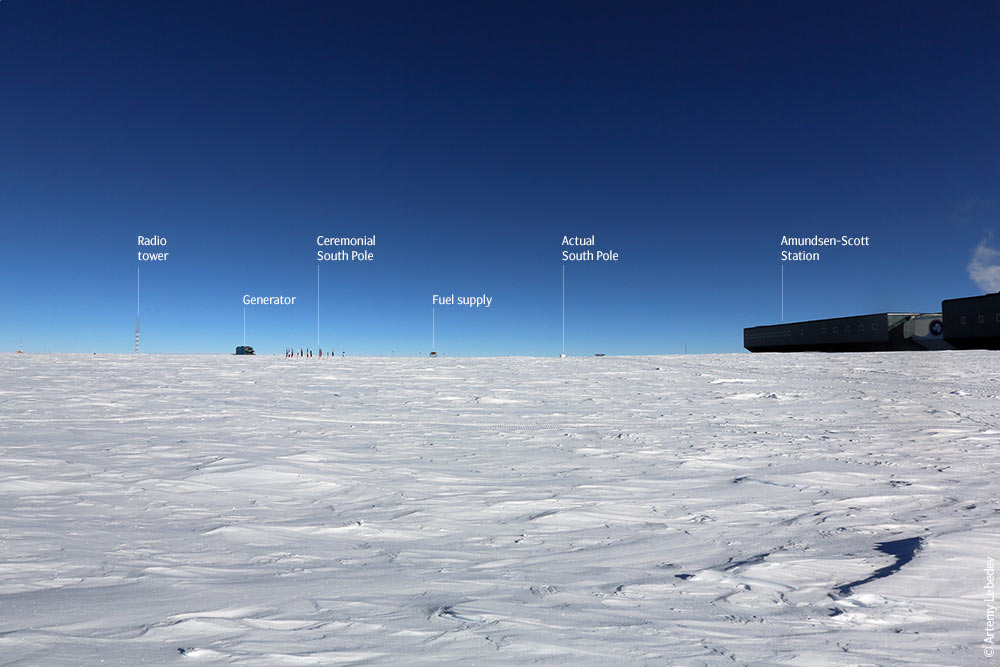 antarctica and the south pole