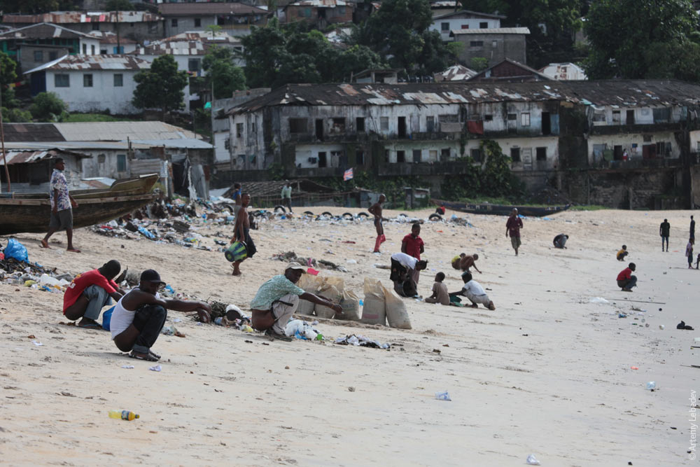 Image result for liberia shitting on beach