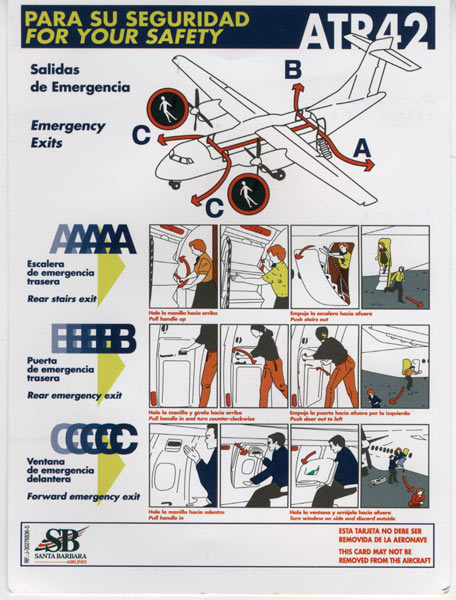 Инструкция к жизни в самолете