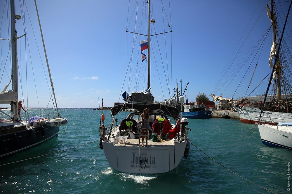 ТихоокеанЭтноЭксп покинули Острова Кука, вышли в океан, потеряли счет