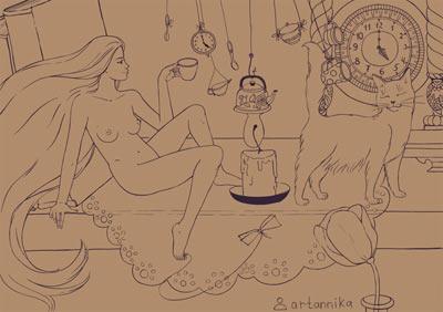Нарисованные сиськи и письки фото 254-945