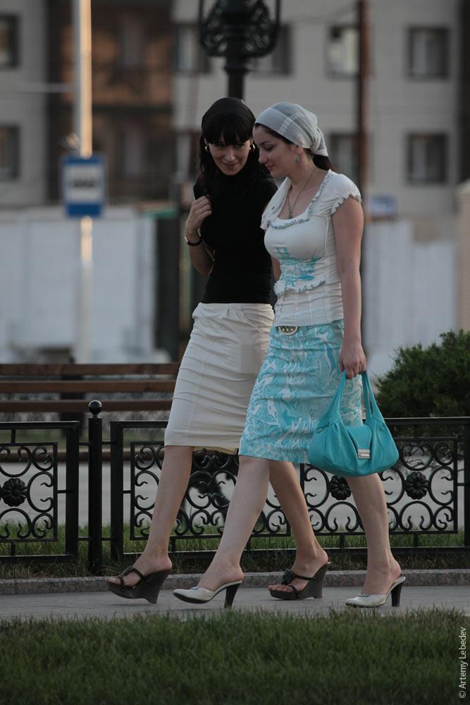 В чем ходят чеченские девушки